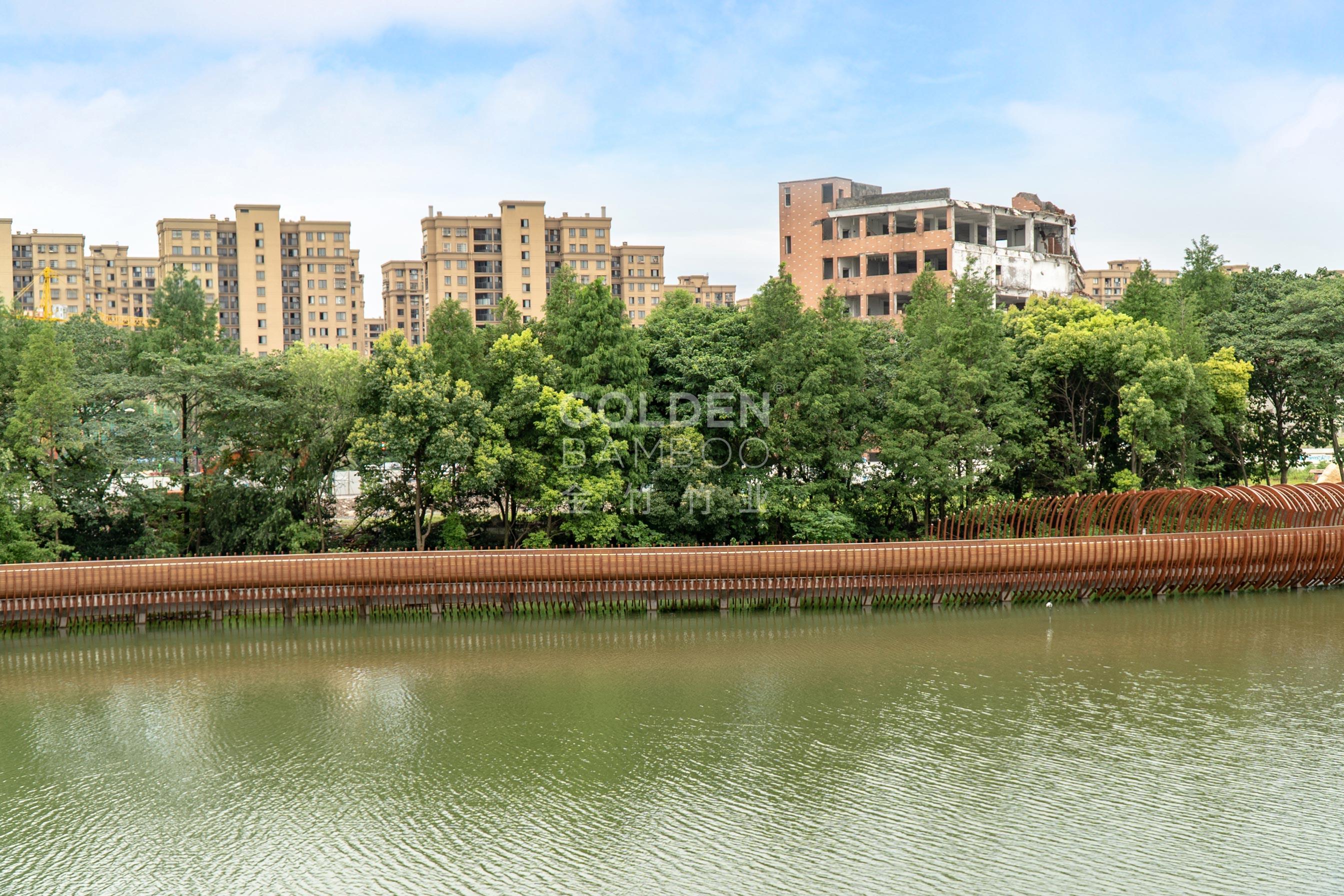 杭州丰收湖公园
